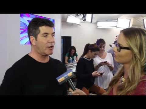 Simon Cowell Interview- Top 12 Double Elimination Show
