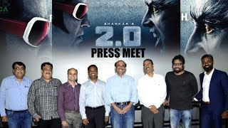 Rajinikanth - Shankar's 2.0 press meet in Hyderabad || #2Point0 || #Rajinikanth || #2point0PressMeet - IGTELUGU