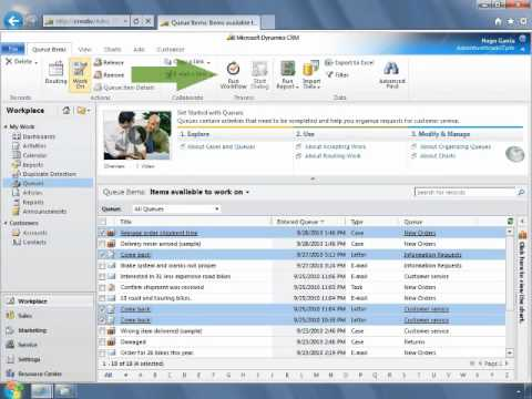 Microsoft Dynamics CRM - Buenas prácticas en la gestión de colas de trabajo
