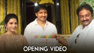Hero Gopichand's 25th Movie Opening Video | Mehreen | TFPC - TFPC