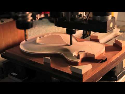DBZ Guitars - Bolero - CNC Time Lapse