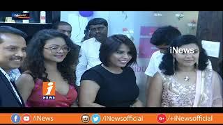 Actress Aditi Myakal Inaugurates Glam Studio In Madhapur | Metro Colours | iNews - INEWS