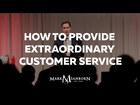 How to Provide Extraordinary Customer Service: The Fred Factor