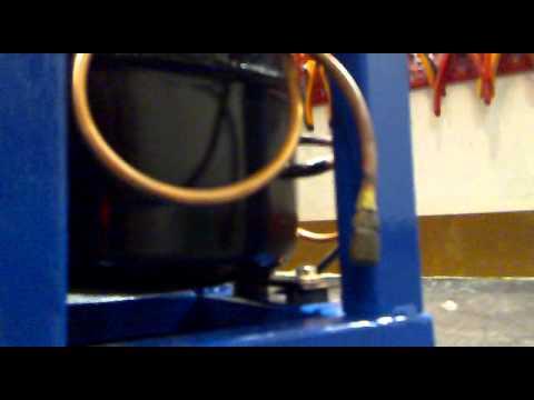 compressore con motore frigorifero