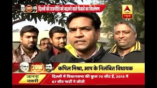 Office of Profit Case: Kapil Mishra attacks on Kejriwal, says he is the one at fault - ABPNEWSTV