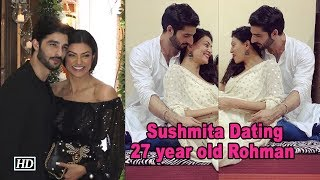 Sushmita Sen CONFIRMS Dating 27 year old Rohman - BOLLYWOODCOUNTRY