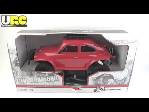 Duratrax VW Baja Bug unboxed