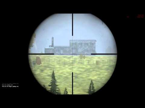 This is why you use Ballistic helmet in DAYZ +800m Mosin (headshot?)
