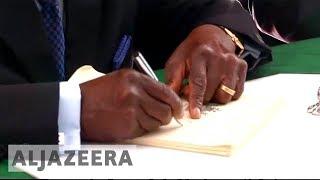 Mass celebrations in Zimbabwe as Mugabe resigns as president - ALJAZEERAENGLISH
