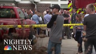 Several Injured In Shooting At Wisconsin Workplace | NBC Nightly News - NBCNEWS