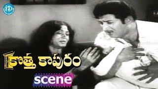 Kotta Kapuram Movie Scenes - Krishna Meets His Wife || Chandra Mohan || Gummadi - IDREAMMOVIES