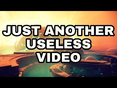 "Just another useless ""speedrunning"" video"