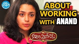 Actress Malavika Nair About Working With Anand || Talking Movies With iDream - IDREAMMOVIES
