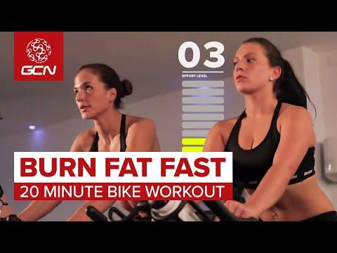 Burn Fat Fast: 20 Minute Bike Workout