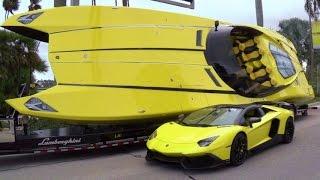 قارب مستوحى من سيارة
