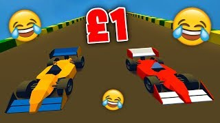 PLAYING A £1 FORMULA ONE GAME!