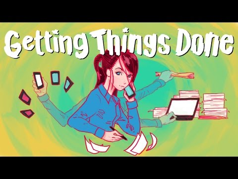 Getting Things Done - How to Get MASSIVE Loads of Work Done EVERY DAY