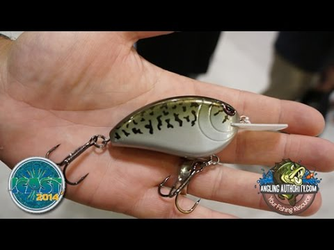 ICAST 2014 John Crews Spro Little John XL70 Crankbait