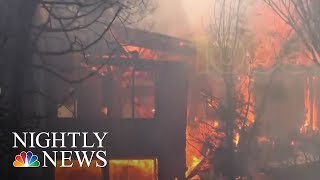 Thomas Fire third largest in California history | NBC Nightly News - NBCNEWS