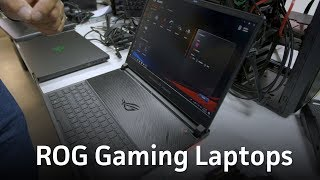 Checking out ROG gaming laptops: Zephyrus S and Strix Scar II - PCWORLDVIDEOS