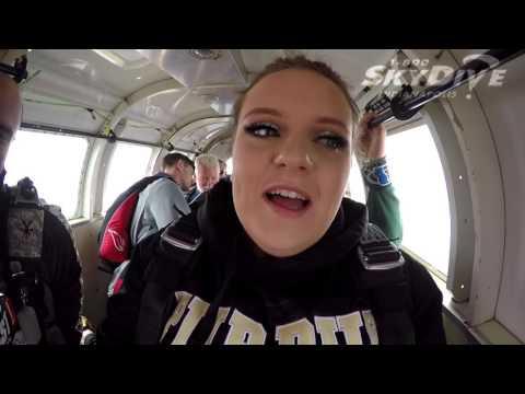 Hannah Linthicum's Tandem skydive!