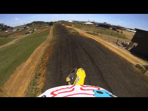 GoPro: Broc Tickle Muddy Creek Raceway Course Preview 2013