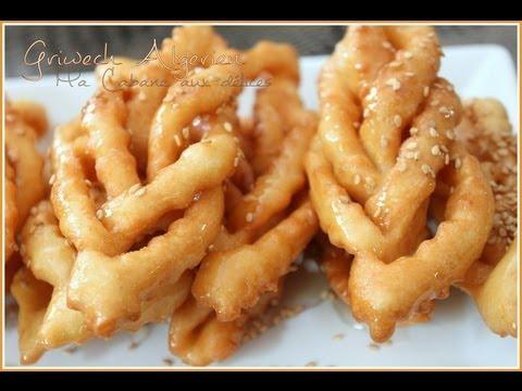 griweche / griwech - gateau au miel pour le ramadan