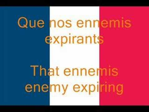 La Marseillaise, French National Anthem (Fr/En)