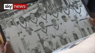 Windrush cricket star can't get a British passport - SKYNEWS