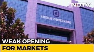 Sensex Loses 185 Points, Nifty Below 10,850 - NDTV