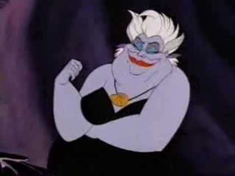Poor Unfortunate Souls - original Greek 1989