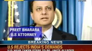 Devyani khobragade : US rejects India's demands - NewsX - NEWSXLIVE
