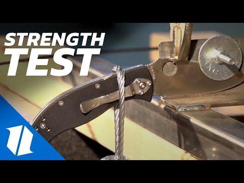 Lock Strength Test