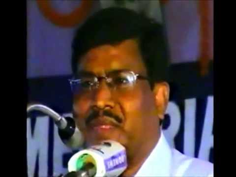 Ex Chief Minister of Jharkhand Shri Babulal Marandi's Speech in Eye Donation Fortnight 2004