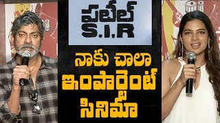 Patel SIR is a very important film for me: Jagapathi Babu || Tanya Hope - IGTELUGU