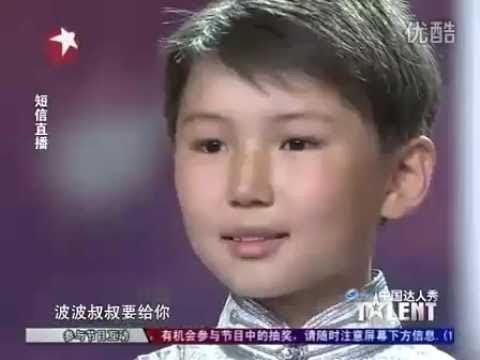 12-letni Wudamu z Mongolii