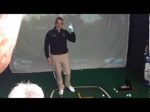 Paul McGinley's perfect pre-round warm-up