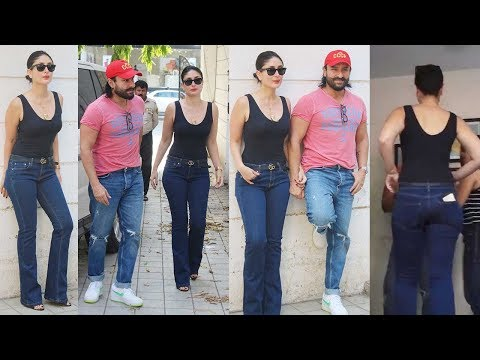Kareena Kapoor, Saif Ali Khan & Rujuta Diwekar Office for Facebook Live - SPOTTED