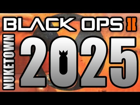 BLACK OPS 2 - &quot;NUKETOWN 2025&quot; FREE Multiplayer DLC Map! - (Black Ops Gameplay)
