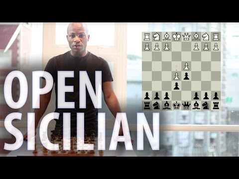 Chess openings - Sicilian Defence: Open Sicilian
