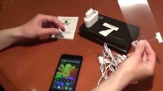 Лена дунула и сняла обзор на телефон Elephone P7 mini