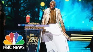 LGBTQ Entertainers Honored At The 2018 MTV Movie & TV Awards | NBC News - NBCNEWS