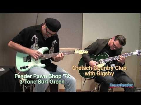 Greg Koch and Paul Pigat Present Fender and Gretsch Guitars