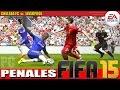FIFA 15: Penales Liverpool vs. Chelsea FC (demo)