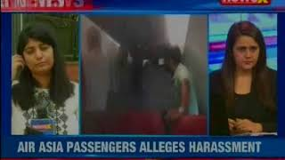 Air Asia flight delayed by 4 hours, Passengers Vomiting, Children Crying - NEWSXLIVE