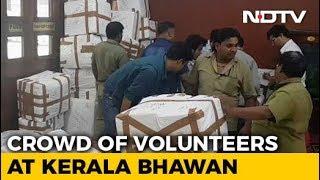 From Delhi's Kerala Bhawan, Students List Essentials For Flood Survivors - NDTV