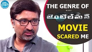 The Genre Of Gentleman Movie Scared Me - Mohan Krishna Indraganti || Talking Movies With iDream - IDREAMMOVIES