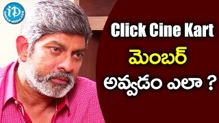 Its Very Simple To Become A Member In Click Cine Kart - Jagapathi Babu || Talking Movies With iDream - IDREAMMOVIES