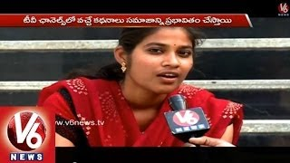 Youngsters Opinions on Media Role During Elections - Yuva Telangana - V6NEWSTELUGU