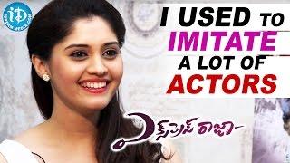 I Used To Imitate A Lot Of Actors - Surbhi || Express Raja Movie || Talking Movies with iDream - IDREAMMOVIES